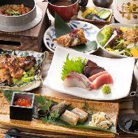宴会コースは3,000円~!様々なシーンに合わせたご利用が可能!