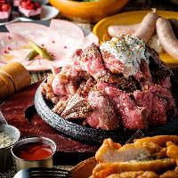 クラフトビールと一緒に楽しめる赤身肉メニューを豊富にご用意!