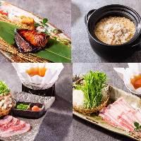 【淡路直送】淡路食材を使用した料理は、焼き・煮・揚げなど様々