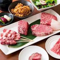 [熟成肉を満喫] コスパ◎熟成肉のディナーコースを2種ご用意