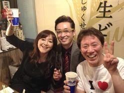 岩崎宏美さん御夫婦ご来店。いつもありがとうございます。素敵!