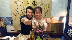 元世界チャンピオン渡嘉敷さんご来店。気さくで素敵な方です