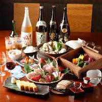 鮮魚に野菜と、地元食材が楽しめる絶品コースをご用意しています