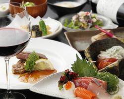 季節の食材を使用した厳選料理で宴会
