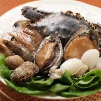 [厳選食材] 毎日新鮮な海産物や野菜を仕入れて、ご提供♪