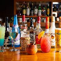 50種類以上のカクテルや国内外ビールなど豊富なドリンクメニュー