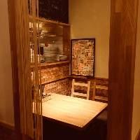 ◆店内に1つのみの人気の個室席!ご予約はお早めにどうぞ♪