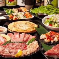 【宴会コース】 飲み放題付き宴会コースは3,500円~ご用意!