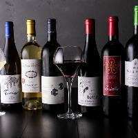 国産ワインや獺祭レモンサワーなど料理に合うこだわり酒ご用意