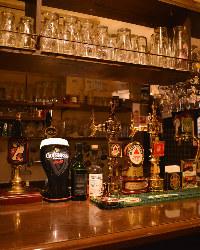 英国ビールを中心とした、珍しいビールが勢揃い