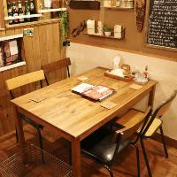 ≪テーブル席≫ 落ち着いた雰囲気のオシャレなテーブル席☆