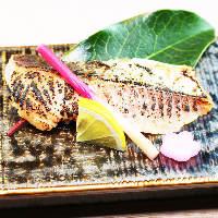 日本の旬な味覚...高級魚を炭火で炙り懐石にてご提供♪