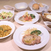 洋食宴会コース(飲み放題付き)4,000円
