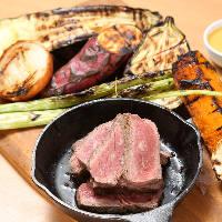 当店おすすめグリルコンボ 肉+グリル野菜8種など