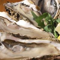 新鮮な魚貝やブランド牡蠣食べ比べも可能です!