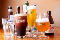イギリス・ベルギー・日本のクラフトビールは常時40種以上!!