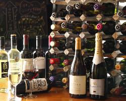 【ワイン】35種類のワインをガブ飲みできます!
