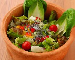 新鮮野菜のサラダ♪