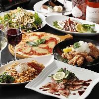 各種ご宴会は飲み放題付き季節の宴会コースがお奨め