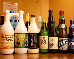 各種韓国酒