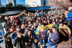 復興庁の石巻市雄勝町のPRイベントでご利用いただきました。