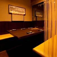 5~7名様専用個室あります。 人気の為ご予約お早めに♪