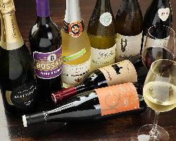 ワイン常時20種類 ALL2,500円