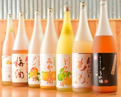 女性に嬉しい果実系のお酒もたくさんあります!各種お試し下さい