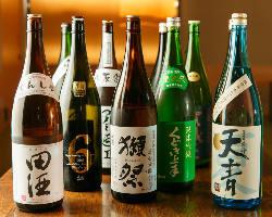 日本酒・焼酎・果実酒が充実!お客様に合うお酒が見つかります!