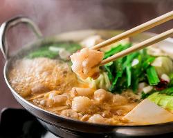 【選べるメイン料理】 海鮮ちらし寿司orもつ鍋or鶏塩ちゃんこ鍋
