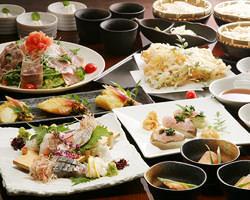 コース◆四季を映す美菜が並ぶコースは 2600円+1600円で2.5H飲放付
