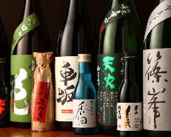 地酒や焼酎など、各種銘酒も取り揃えております