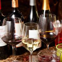 専属ソムリエが南半球のものを中心にワインを50種厳選しました