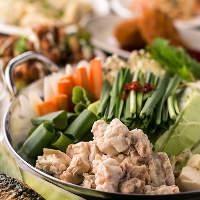この時期に嬉しい鍋料理も用意可能!鍋を囲んで楽しいひと時を。