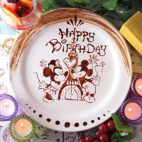 人気の誕生日特典♪デザートプレートを無料でプレゼントします♪