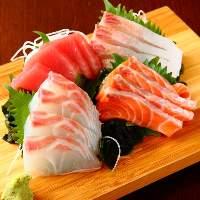 鮮度抜群の鮮魚も自慢☆日本酒との相性抜群です!!