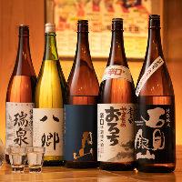 地酒も鳥取・島根のものを厳選してご用意しております