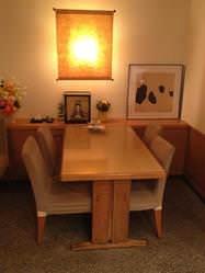 ◆1階テーブル席◆ 1階唯一のテーブル型4名席