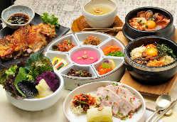 薬膳(韓方)サンパランチ定食