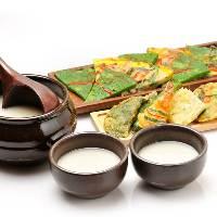 韓国料理には、やはり韓国伝統酒のマッコリがおすすめです。