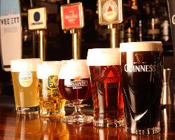 厳選した世界のビールが集まる当店でパーティーはいかがですか?