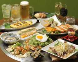 コース料理も各種ご用意! 宴会最大40名様まで対応可能!