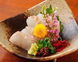 【名物すずき料理】 大平丸直送の鮮魚は必食です!