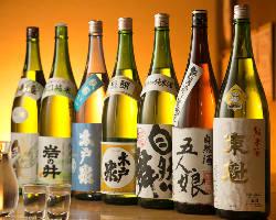 【蔵元直送地酒】 全国各地の味を堪能。千葉の地酒もこだわり有