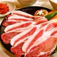 ランチはお好みの焼き物メニューからプラス300円で定食セット
