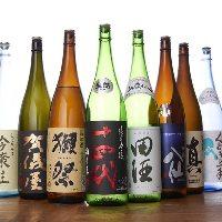 日本酒の仕入れには魂をこめています。