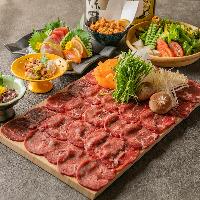 見た目も華やかなコース料理をご提供いたします♪2980円~