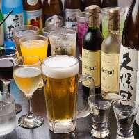 【美酒】 日本酒や焼酎はもちろんクラフトビールもおすすめ