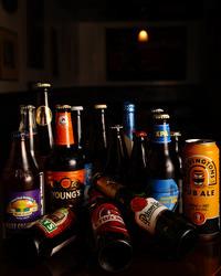 世界のビール・日本のクラフトビール豊富!