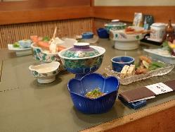 茨城の旬な食材をふんだんに使った日本料理をご堪能ください。
